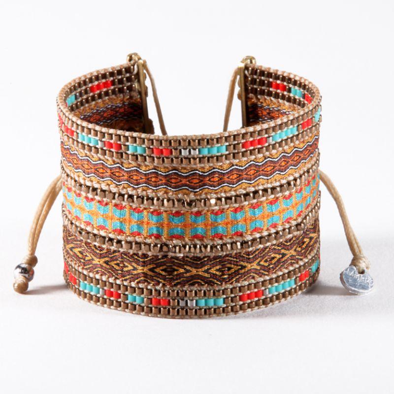 Bracelet COLLAGE BROWN BIG